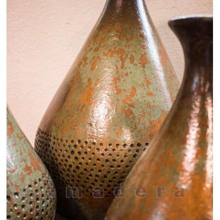 Vase décoratif pot terre cuite