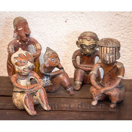 Statuettes figurines mexicaines