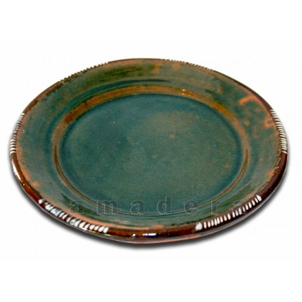 Assiettes plates originales