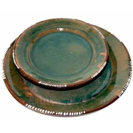 Assiettes vaisselle artisanale