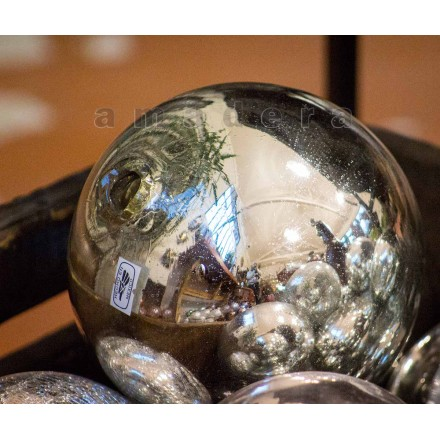 Boules décoratives en verre