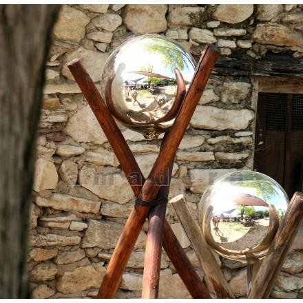 Boules de décoration en verre