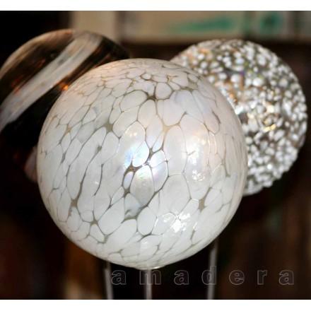 Boule en verre décoration
