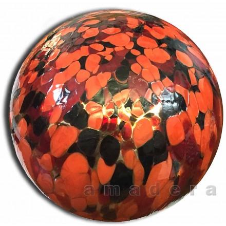 Boule de décoration en verre