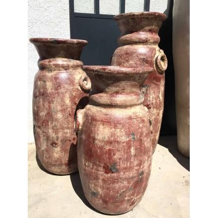 Grande jarre poterie en terre cuite non g live pour votre - Jarres terre cuite jardin ...