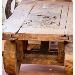 Table Basse En Pin.Table Basse De Salon