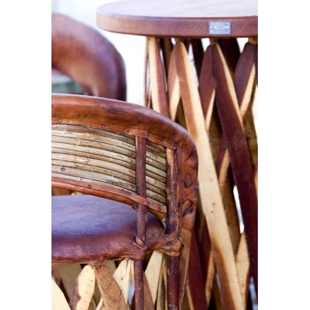 Meuble de jardin table haute