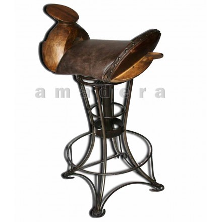 Chaise haute pivotante