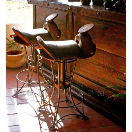 Chaise de bar pivotante