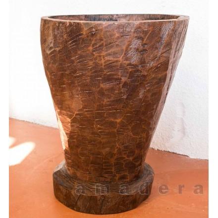 Pilon ancien en bois