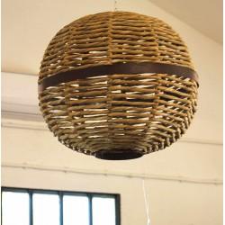 Luminaire boule suspendue