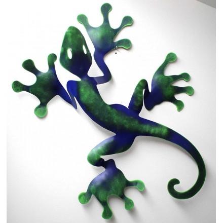 Salamandre décoration en métal