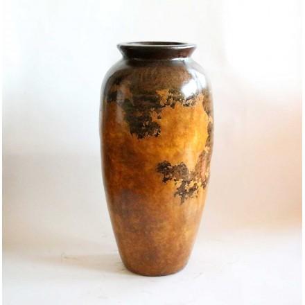 jarre poterie en terre cuite d coration d 39 int rieur patine faite main. Black Bedroom Furniture Sets. Home Design Ideas