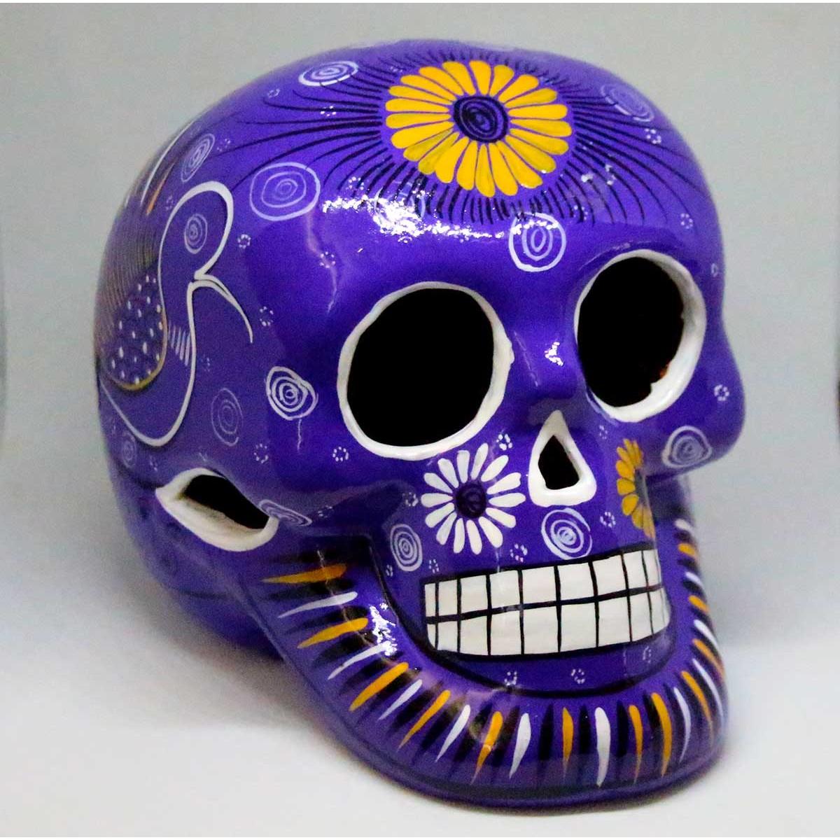 Crane mexicain en céramique
