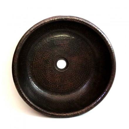 Vasque en cuivre à poser