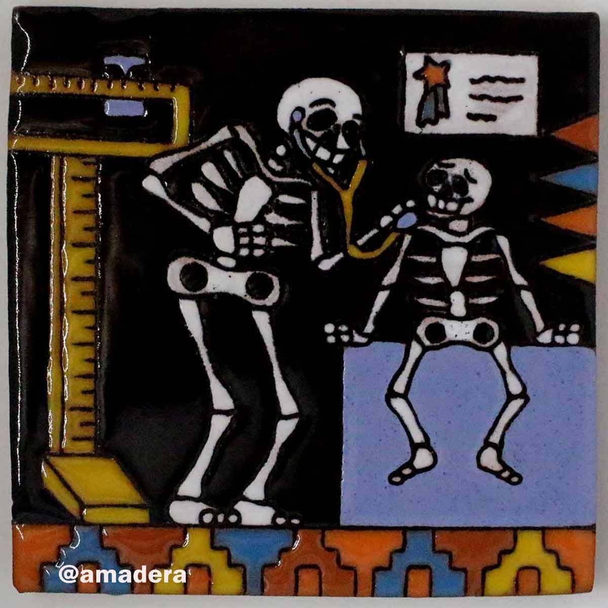 Carrelage azulejos mexicain