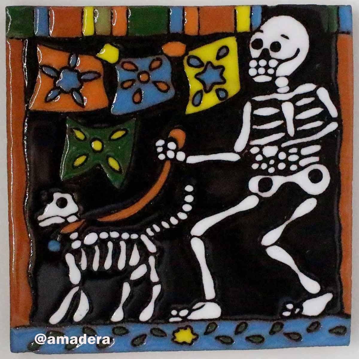 Azulejos mexicains émaillés