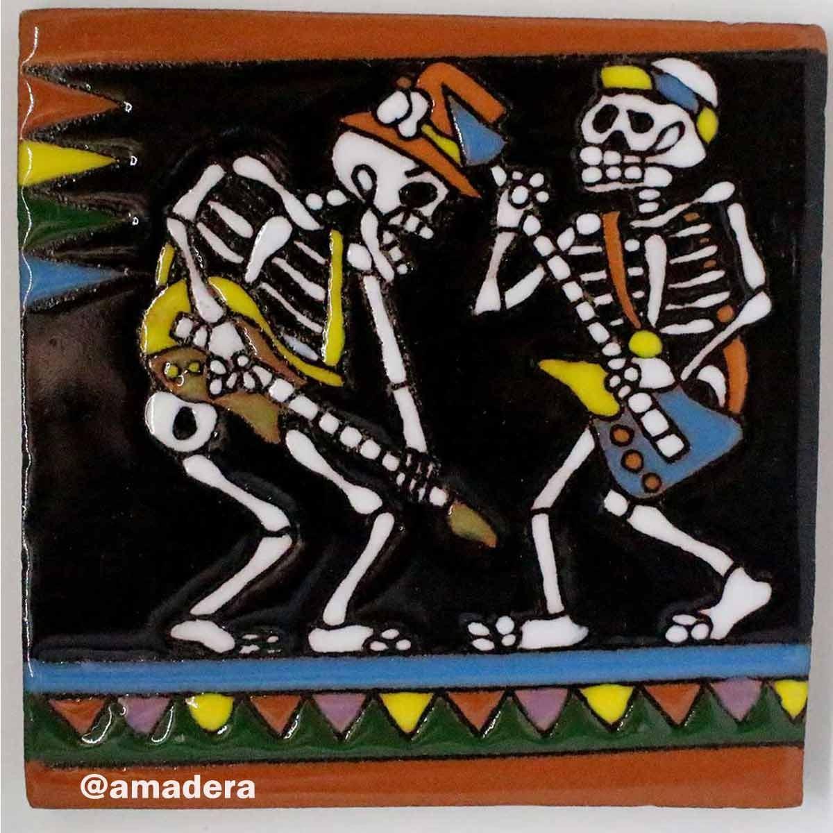 Azulejos carrelage mexicain d coratif sur tous les murs de Carrelage mexicain