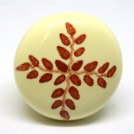 Bouton de tiroir ceramique