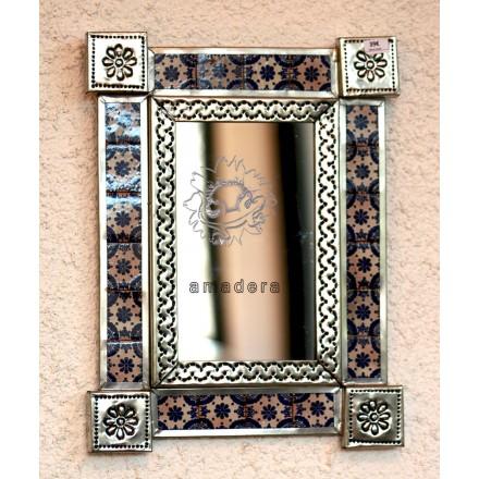 Petit miroir mexicain décoratif