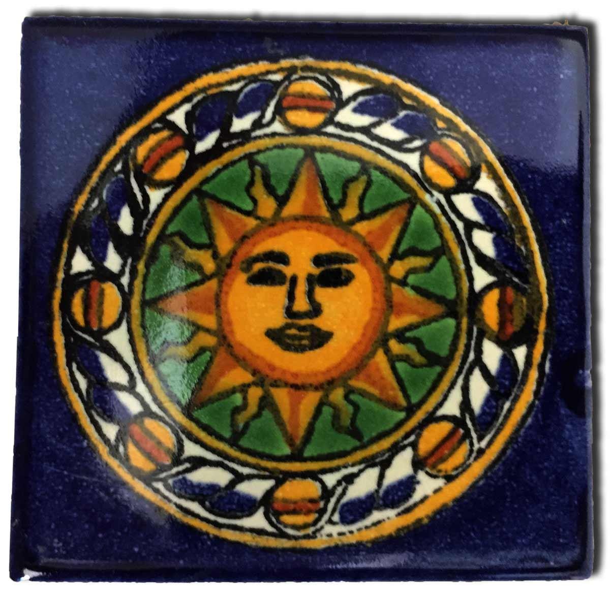 Petits carreaux de fa ence color s azulejos mexicain Carrelage mexicain