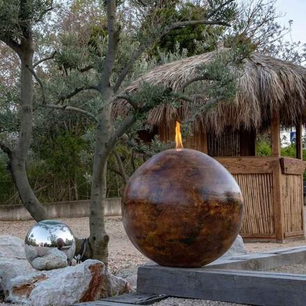 Grosse lampe à éthanol