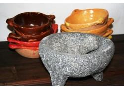 mortier et pilon en pierre pour pr paration culinaire amadera. Black Bedroom Furniture Sets. Home Design Ideas