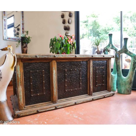 Bureau meuble mexicain