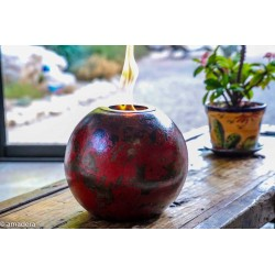 Lampes d'ambiance à éthanol Rouge