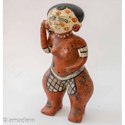 Statue mexicaine déco