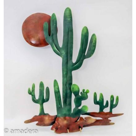 Cactus déco murale