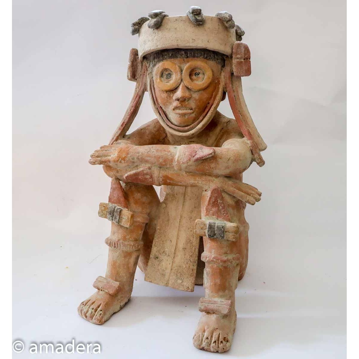 Statue mexicaine Maya