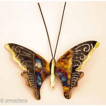 Papillon décoration murale