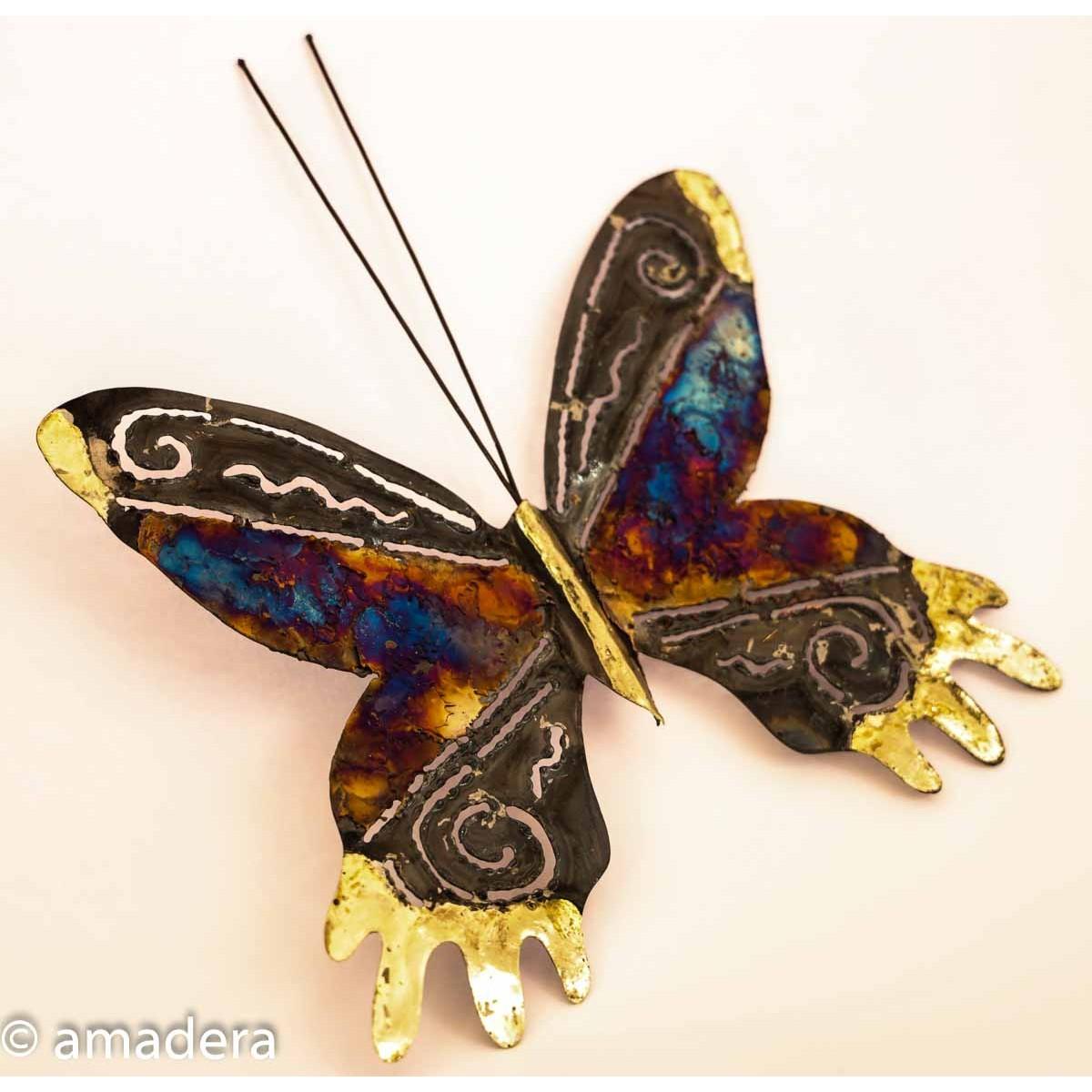 Papillon décoration mur intérieur