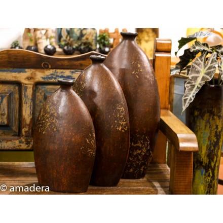 Vase en terre cuite décoration intérieure