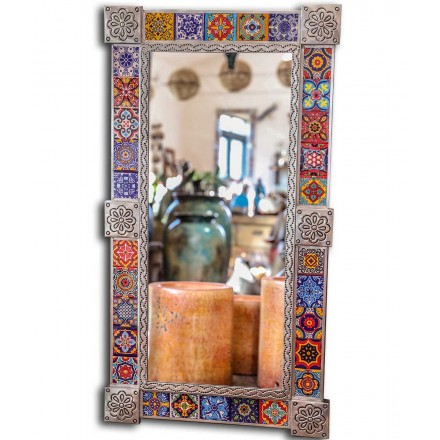 Miroir mexicain rectangulaire