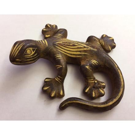 Petite salamandre terre cuite