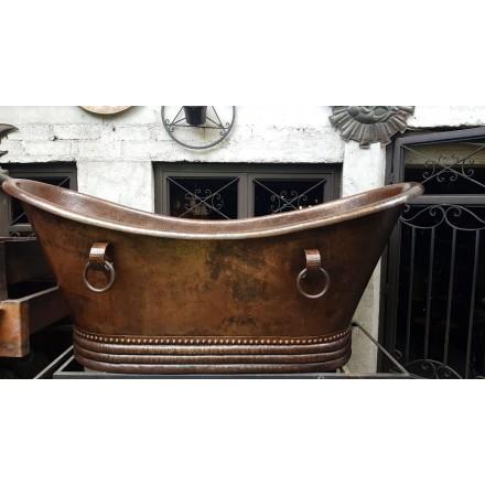 Baignoire en cuivre sur mesure