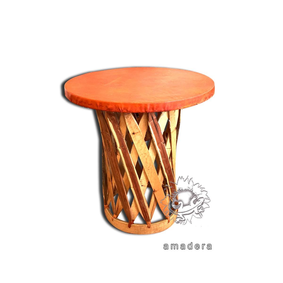 Table ronde mobilier de terrasse