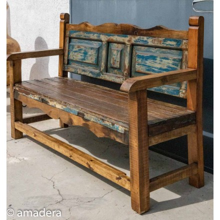 Grand banc mobilier mexicain