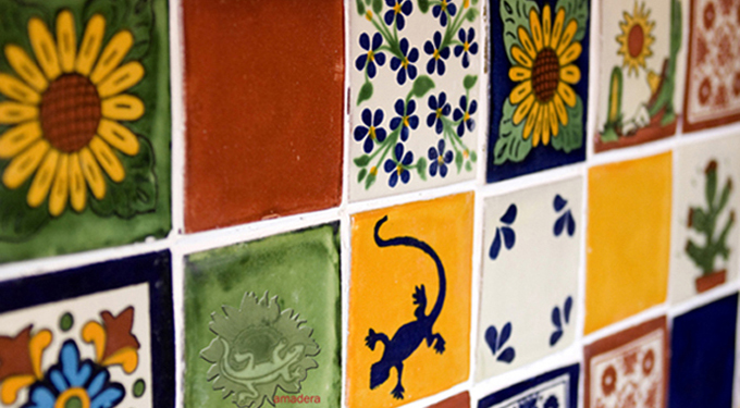 Azulejos carrelage artisanal carreaux mexicains maill for Carrelage artisanal