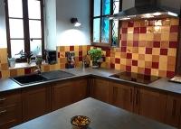 Azulejos carrelage mexicain amadera pour crédence de cuisine