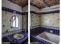 Azulejos carrelage mural mexicain pour salle de bain
