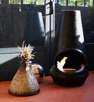 Brasero cheminée éthanol
