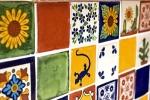 Azulejos carrelage mexicain émaillé